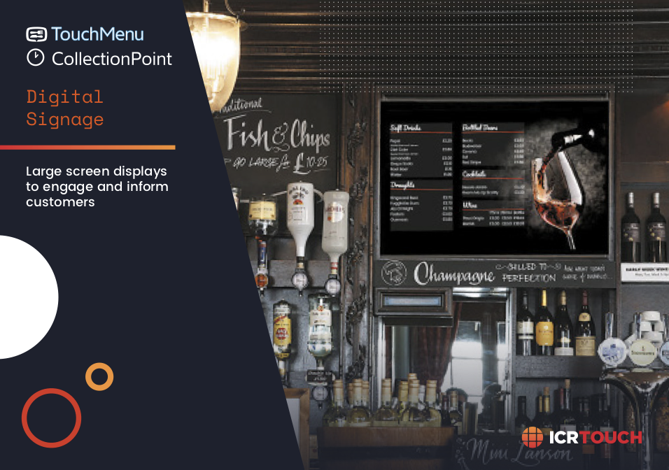 Digital Signage Brochure - TOuchMenu & CollectionPoint
